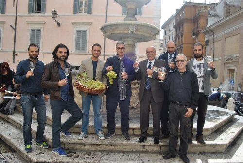 Presentazione Sagra dell'uva in tour, foto ricevuta dal Comune di Marino