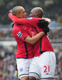 Peter Odemwingie and Youssuf Mulumbu.