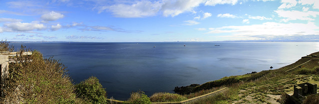 Firth of Forth from Inchkeith