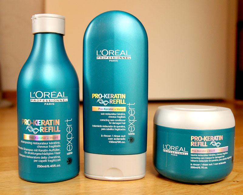 L'oréal professionell pro-keratin refill