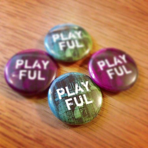 #Playful12 badges!