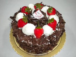 生日蛋糕 黑森林