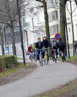 Ghent cyclists