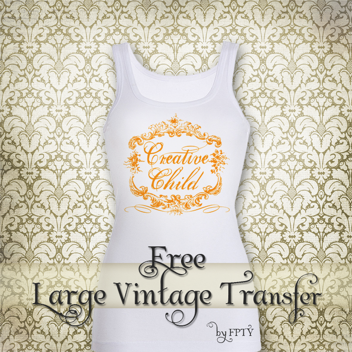 Free vintage Iron on Transfer_Vintage Child_web ex