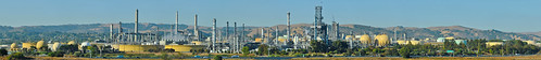 california blue panorama color industry northerncalifornia yellow nikon october industrial wide large shell panoramic oil bayarea eastbay martinez refinery stitched 680 2012 contracostacounty shellrefinery d700