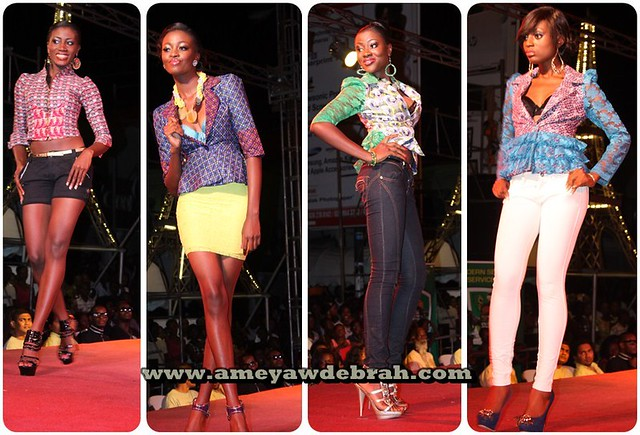 8108362119 b192acbab0 z Fashion meets beauty and music as Miss Ghana holds street fashion show on Osu Oxford Street
