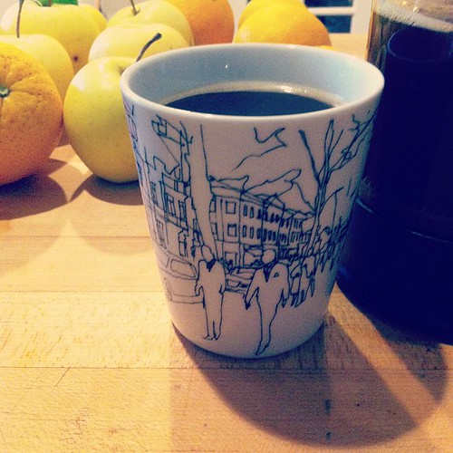 Morning cup in marimekko