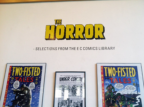 The Horror: from the EC Comics Library