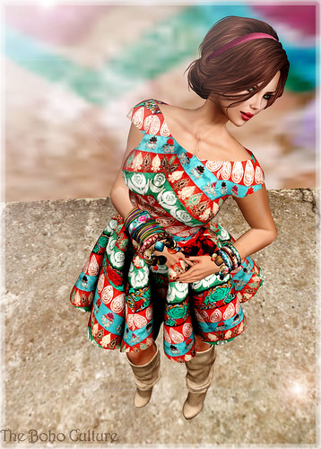 Retro Dress by ~ ✫ FLRN BABY'S & FLRN DESIGN ✫ ~
