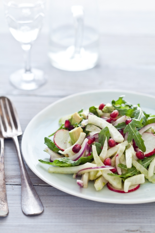 Fennel Pomegranate Salad