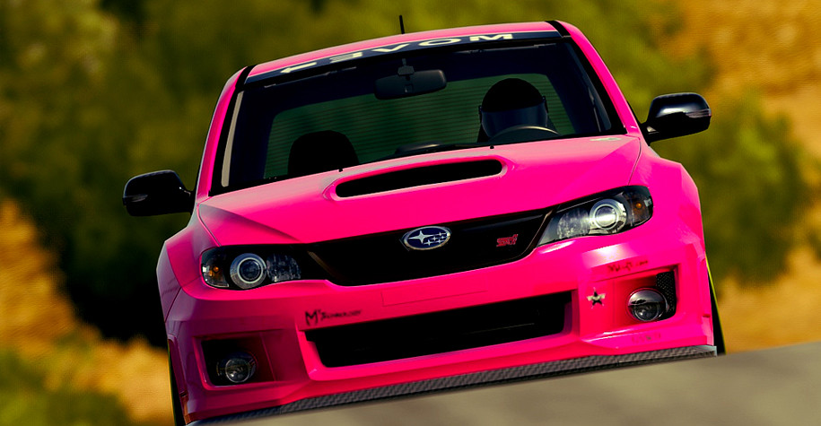 G force stickers - Pink Sti Submited Images