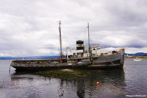 St. Christopher Tug Boat of Ushuaia, Argentina