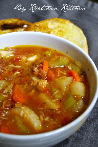Manhatten Style Fish Chowder
