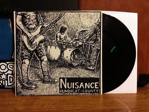 "Nuisance - Humboldt County 7"" by Tim PopKid"