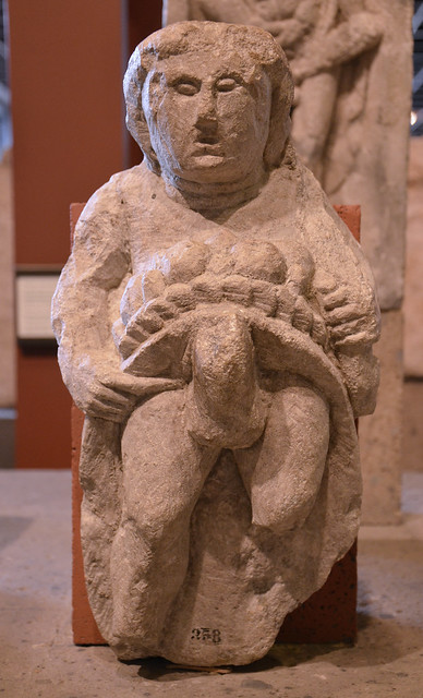 Priapus, the bountiful god of fertility, Romisch-Germanisches Museum, Cologne