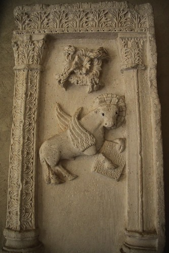 Pulpit Relief with Sybol of Saint Luke