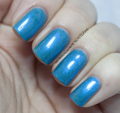 Jindie Nails Blue Blue xmas (5)