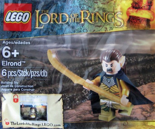 LEGO Lord of the Rings Elrond Minifigure