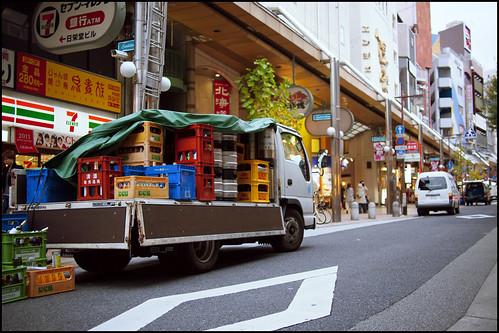 Delivery near Sannomiya Eki by Eric Flexyourhead