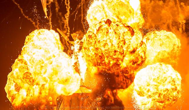 Big Boom: Burning Man 2012 Fireball | Flickr - Photo Sharing!