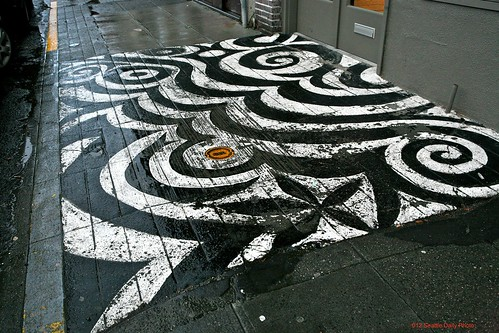 Graphic Art Underfoot by Seattle Daily Photo