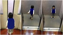 朝散歩 - エレベーター (2012/10/24)