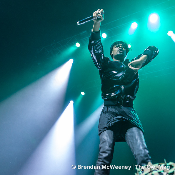 A$AP Rocky and Danny Brown @ Fox Theater, SF 10/24/12