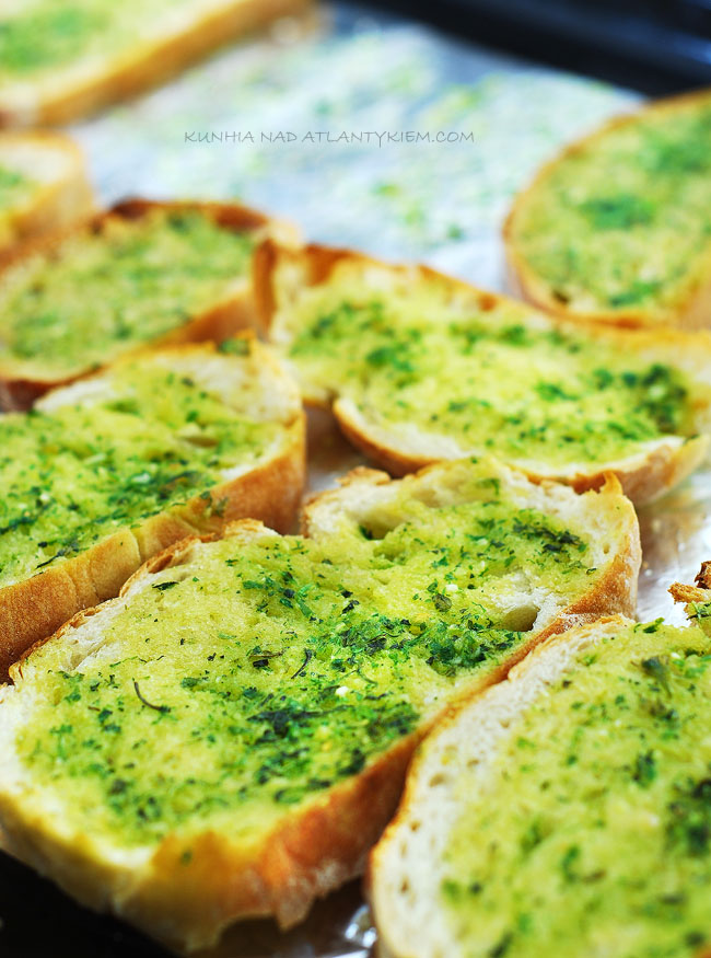 herb butter bread