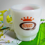 Fire King Bureger Queen Good Morning Coffee Mug