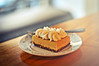 Pumpkin Cheesecake Bar at Semisweet Bakery, Downtown Los Angeles by R. E. ~