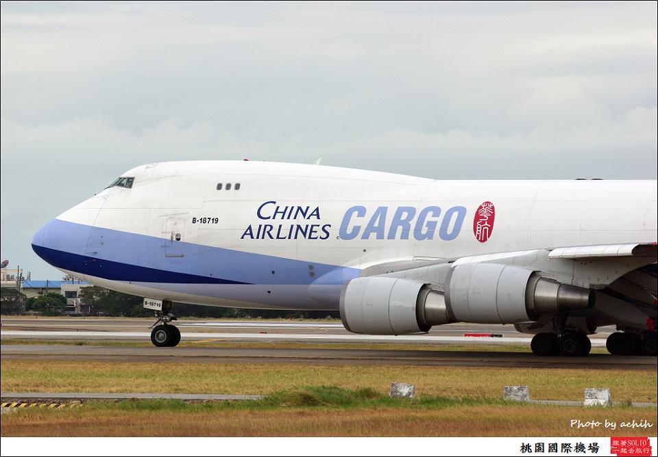 中華航空B-18719
