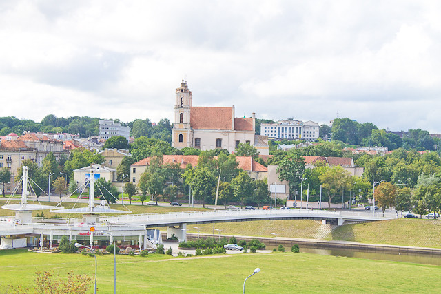 Vilnius and its summertime