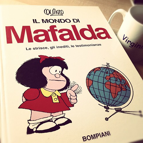 Lazy Sunday afternoon: Mafalda & tea