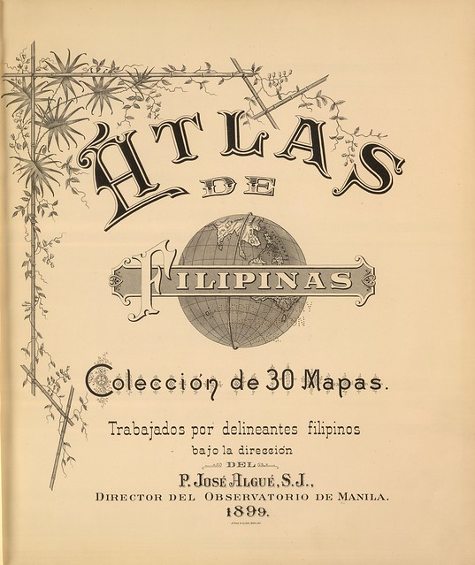 Atlas de Filipinas. Coleccion de 30 Mapas 1899