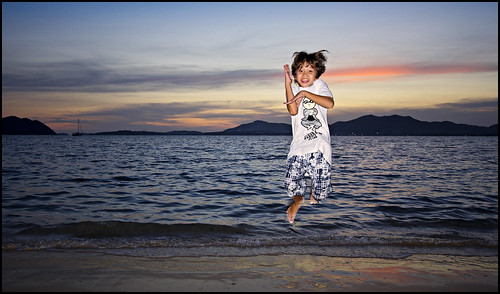 Jumping Boy at Cape Panwa Phuket