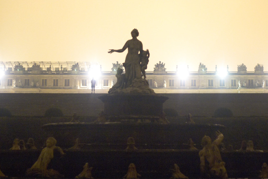 Versailles at night 3