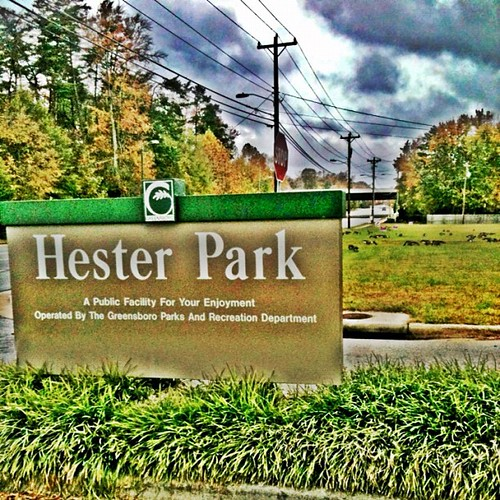Hester Park by Greensboro NC