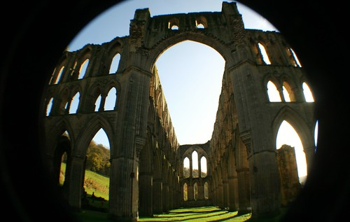 Presbytery at Rievaulx Abbey