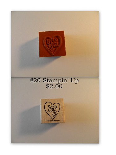 #20 Stampin' Up $2.00