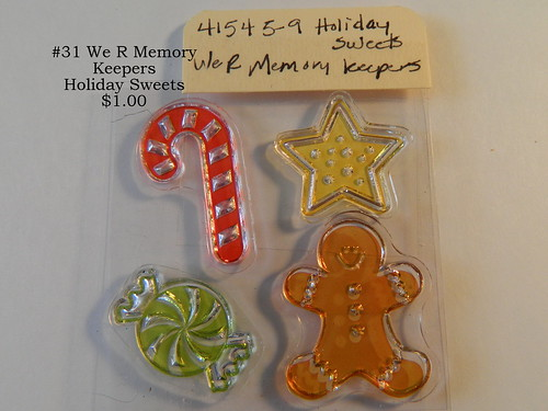 #31 We R Memory Keepers Holiday Sweets $1.00