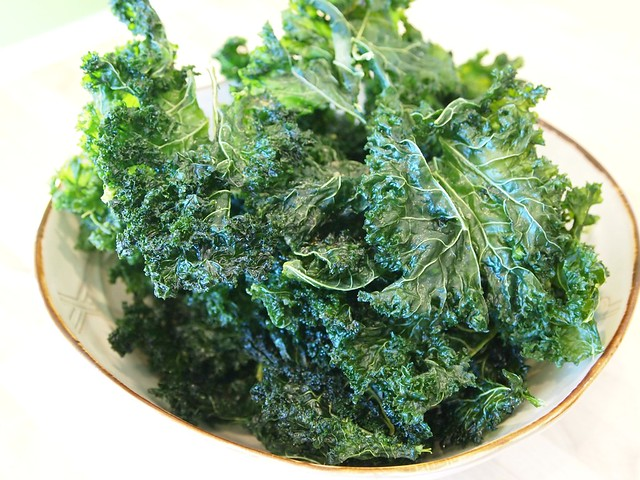 kale chips home made