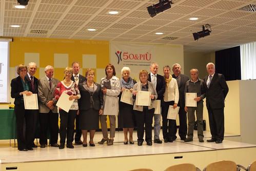 Gruppo premiati 50&più provincia di Sondrio
