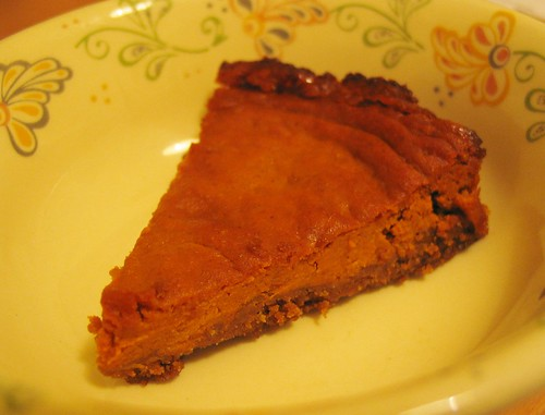 Vegan pumpkin pie!