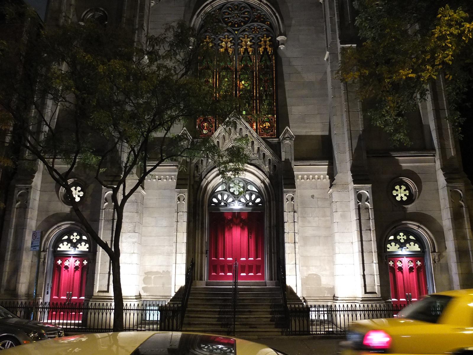 Church, backlit windows by wwward0