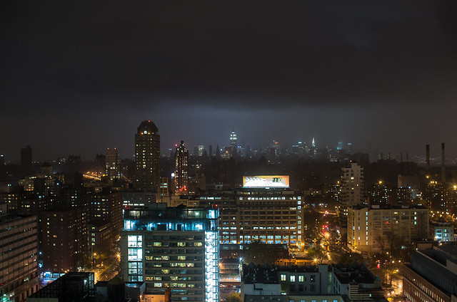 Lower Manhattan without power - 8:50pm