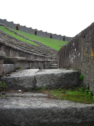 Steps of the Amphitheater, Pompei