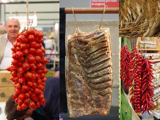 Salone Gusto - Pomodori del Piennolo e pancetta