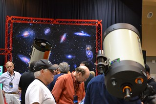 EdgeHD telescopes at the Celestron booth