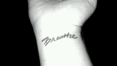 Breathe baby...