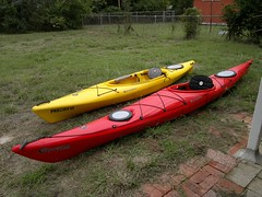 canoe(0.0), watercraft rowing(0.0), oar(0.0), paddle(0.0), boats and boating--equipment and supplies(1.0), vehicle(1.0), kayak(1.0), boating(1.0), kayaking(1.0), watercraft(1.0), sea kayak(1.0), canoeing(1.0), boat(1.0),